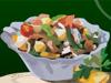 gekoeld plantaardige salade