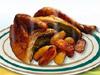 허브 먹거리와 로스트 치킨