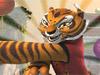 Die Tigerin-stap-springen