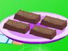 使巧克力核仁巧克力餅