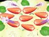Mentimun dan stroberi Salad