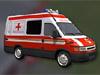 Camion de pompiers de sauvetage