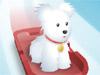Traîneau à chiens pour animaux de compagnie
