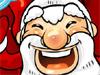 Santa Claus menari