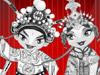 Beijing Opera maskers