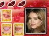 Celebrity lippen