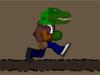 ティラノサウルスレックスの走行