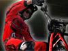 Motorfiets belemmering