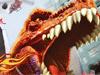 Dinosaur oorlogen raket auto