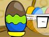 彩繪的雞蛋