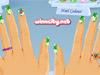 Śmieszne zdobienia paznokci wzory