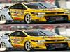 Miejscu różnice - samochód wyścigowy