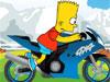Bart Simpson a motoron