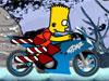 Bart año nuevo bicicleta