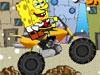 SpongeBob śnieg motocykl