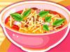 美味面条汤