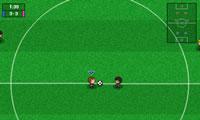 Jongen meisje Soccer