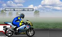 Motorfiets stunt