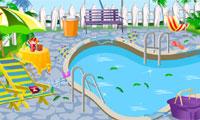 Mijn zwembad schoon