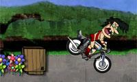 Gek Tarzan fiets