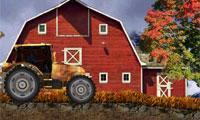 駕駛農場大卡車