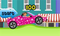 Corsa di automobile di Dora