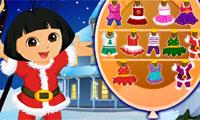 Dora Christmas trang phục