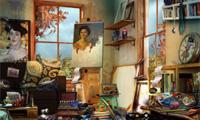 De kunstenaars appartement