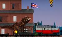 Tyrannosaurus aangevallen Londen