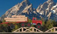 LKW-Transport Holz