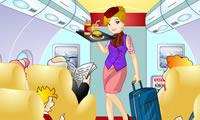 Schattig Stewardess
