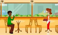 Cafe serveerster