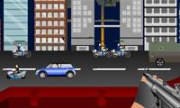 Straße Schusswechsel