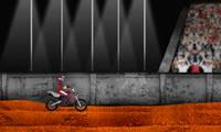 Agni Motorrad-Stunt