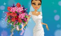 Pernikahan karangan bunga