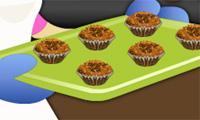 Πώς να ψήνουν Muffins ψίχουλο μπανάνας