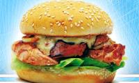 een kip Hamburger
