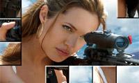Afbeelding wanorde Angelina Jolie