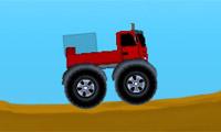 Vrachtwagens beladen