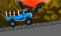 Vrachtwagens beladen 2