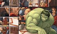 Foto Mess - Hulk met vrienden