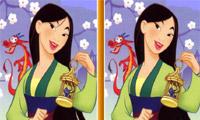 Mulan Spot der Unterschied