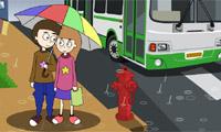 Besos en la lluvia