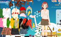 冬のドレスアップ
