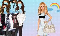 Ngôi sao nhạc pop ăn mặc