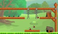 Schwarze Ameisen-Rescue