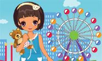 Riesenrad Park Girl