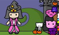 Princesa de Halloween
