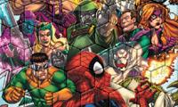 Spiderman VS Villains Verlegenheit meine Fliesen