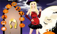 Funny Halloween Girl